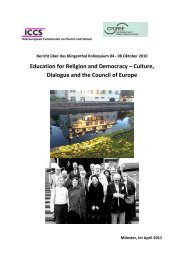 Education for Religion and Democracy – Culture, Dialogue and the ...