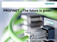 PROFINET – The future is green - ARC Advisory Group