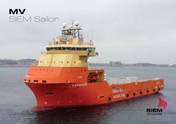 MV SIEM Sailor - Siem Offshore AS