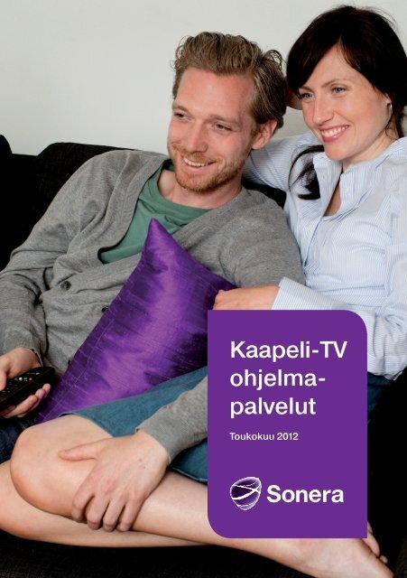 Kaapeli-TV ohjelma- palvelut - Sonera