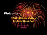 Welcome - Silicon Valley Section