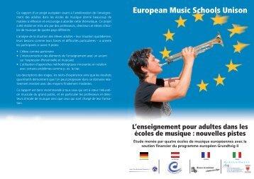 European Music Schools Unison - UDEM37