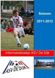 Informatie boekje A.S.V. De Dijk