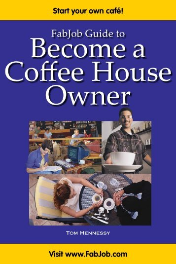 1.2 What a Coffee House Owner Does - Fabjob.com