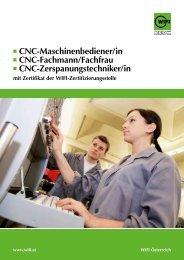 cnc-Maschinenbediener/in cnc-Fachmann/Fachfrau cnc ...