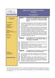 Informe de Coyuntura del IERAL Semanal