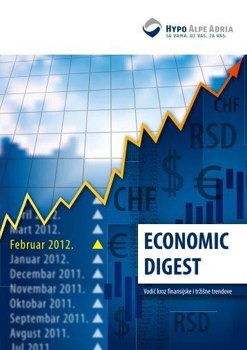 Economic Digest (Februar 2012) - Hypo Alpe-Adria