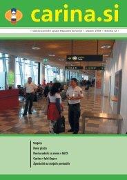 Åtevilka 13, oktober 2008 - Carinska uprava Republike Slovenije