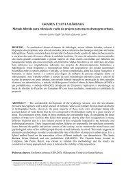 GRADEX E SANTA BÁRBARA Método híbrido ... - Artigo Científico