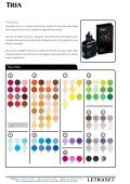 Tria Inks Guide - Letraset - Page 2