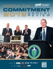 2012 SRR Annual Review - Savannah River Remediation LLC