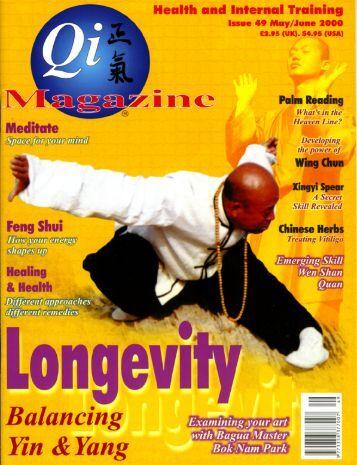 Issue 49 - Tse Qigong Centre