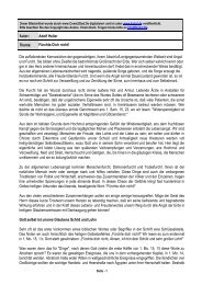 Autor: Adolf Heller Thema: Fürchte Dich nicht! Die ... - Kahal.De