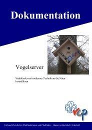 Dokumentation Vogelpavillon - VCP Kleefeld