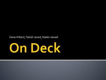 On Deck - 498w11