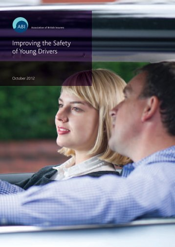 Improving the Safety of Young Drivers - Association of British Insurers