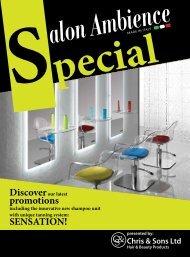 promotions SENSATION! - Salon Ambience