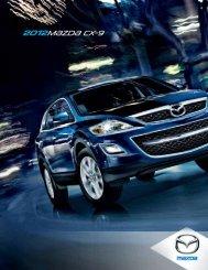 2012 Mazda CX-9 Brochure