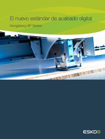 Kongsberg XP: Mesa de corte CAD/CAM para corte y ... - Esko