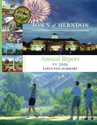 Annual Report - Town of Herndon