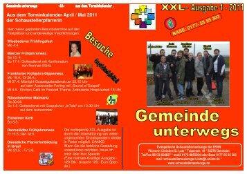 Gemeinde unterwegs 1-2011 - Evangelische Schaustellerseelsorge
