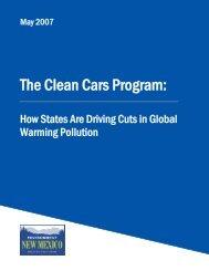 The Clean Cars Program: - Public Interest Network