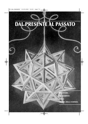 DAL PRESENTE AL PASSATO - Ettore Majorana