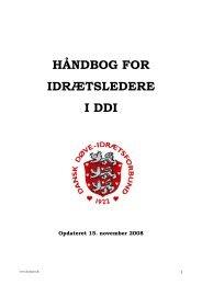 Idrætslederens opgaver - Dansk Døve-Idrætsforbund
