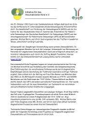 Einladung zum 5 - (GFID) eV