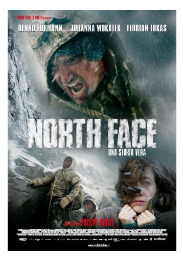 North Face press book