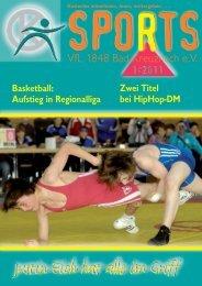 sports 2011/1 - VfL 1848 Bad Kreuznach eV