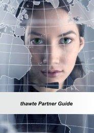 thawte Partner Guide - VeriSign