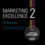 BT Business - The Marketing Society