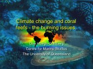 Climate change and coral reefs - Weizmann Institute of Science