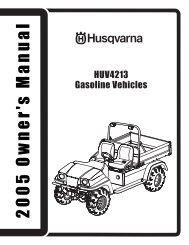 OM, HUV 4213 (2005), 2005-01, Utility Vehicle