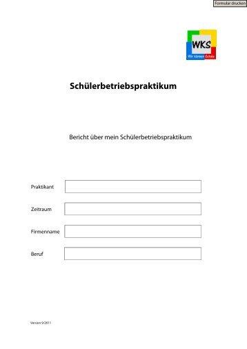 Bereich WL - Schülerbetriebspraktikum - Wilhelm-Körber-Schule