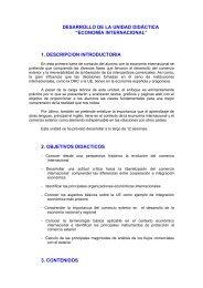 Economía internacional - Ecobachillerato