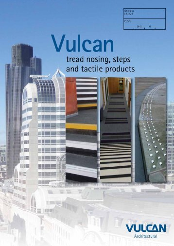 Vulcan Tread Nosing, Steps and Tactile Produ... - Barbour Product ...