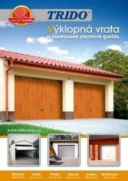 Prospekt - výklopná vrata (formát .pdf) - Trido