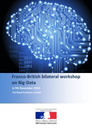 Franco-British bilateral workshop on Big-Data - France in the United ...
