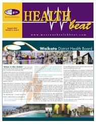 August 2002 - McCrone Healthbeat
