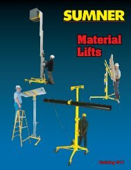 Material Lifts - National Ladder and Scaffold Co.