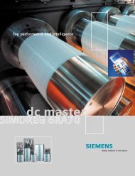 Ratings and Dimensions - Siemens