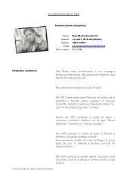 CV gian marco schiaretti 2012 - Ego Village