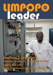Limpopo Leader - University of Limpopo