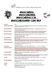 mascherando con bay - Udine Cultura