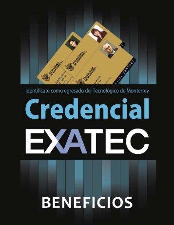 Beneficios - Exatec - Tecnológico de Monterrey