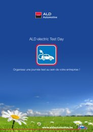 ALD electric Test Day - ALD Automotive