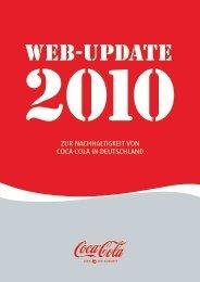 Web-Update 2010 - Coca-Cola Nachhaltigkeitsbericht 2011