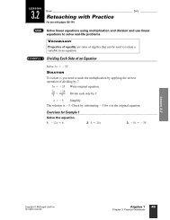 3.2 Reteaching with Practice - WorthysAlgebraClass